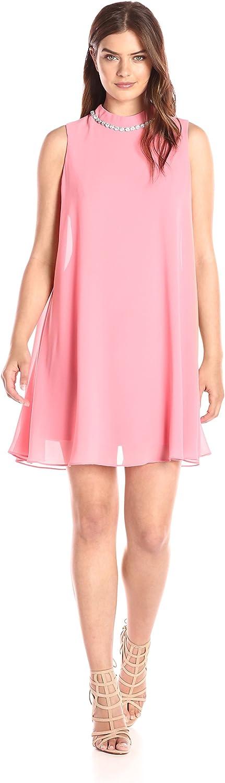 Eliza J Women's Beaded Neck Float Dress