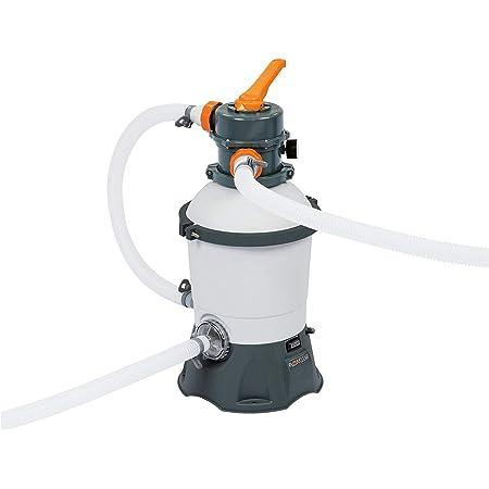 Filtre à sable Bestway Flowclear pour piscine avec doseur intégré ChemConnect