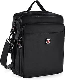 Vertical Shoulder Messenger Bag for iPad, Tablet and Laptop Upto 14