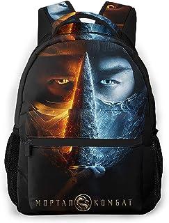 Mortal Bag Kombat Backpack Durable And Casual Lightweight Bookbag Travel Hiking Daypack Shoulder Backpacks,