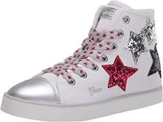 Geox Jr Ciak Girl D, Sneakers Basses Fille