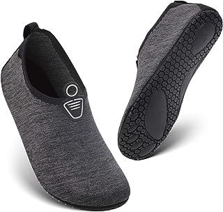 HEETA Water Sports Shoes for Women Men Quick Dry Aqua Shoes Barefoot Socks Swim Beach Swim Shoes