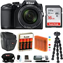 Nikon COOLPIX B500 Digital Camera w/ 16GB USB Accessory Bundle