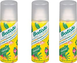 Batiste Dry Shampoo 1.6 oz. Tropical (PACK OF 3)