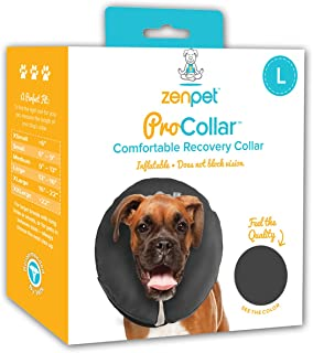 ZenPet Pro Collar Comfy Pet E-Collar for Dogs