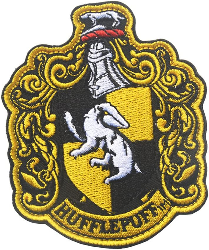 Huflepuff Patch Sew Ranking integrated 1st place On Max 53% OFF Crest House Hogwarts Lo Patches