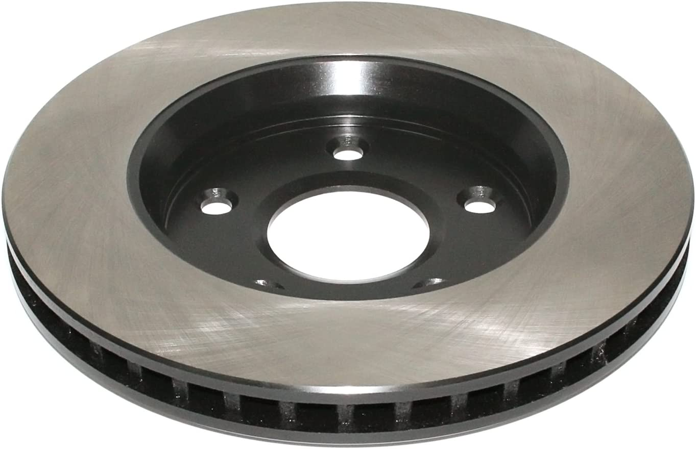 Front DuraGo BR900528-02 Vented Brake Rotor