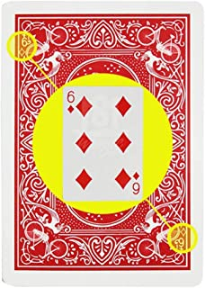 Blue-ther Marked Stripper Deck Playing Cards Poker Magic Tricks Props Close Up Street Illusion Mentalism Gimmick