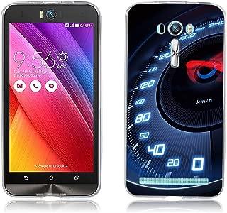 Zenfone 2 Laser Case, [Ultra Slim] Premium 3D Pattern Lightweight TPU Phone Case Cover for ASUS Zenfone 2 Laser (ZE550KL / ZE551KL) 5.5 Inch Smartphone