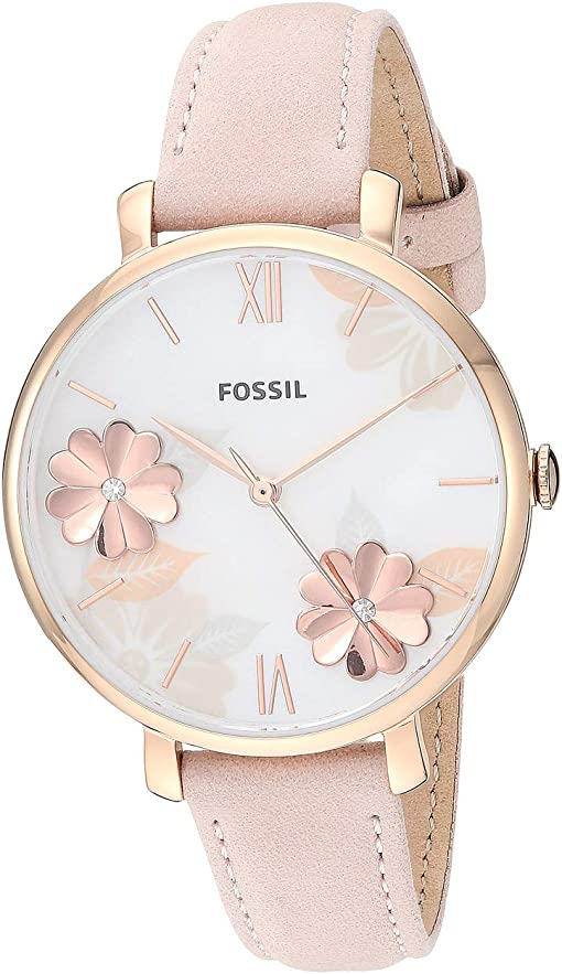 ES4671 Rose Gold Blush Leather