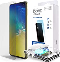 Galaxy S10e Screen Protector, [Dome Glass] Full Cover Tempered Glass [LOCA Tech] Easy Install Kit by Whitestone for Samsung Galaxy S10e (2019) - 2 Pack