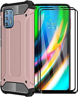 FANFO® Funda para Motorola Moto G9 Plus, protección contra Golpes de TPU + PC Resistente a arañazos (Doble Capa) Carcasa p...