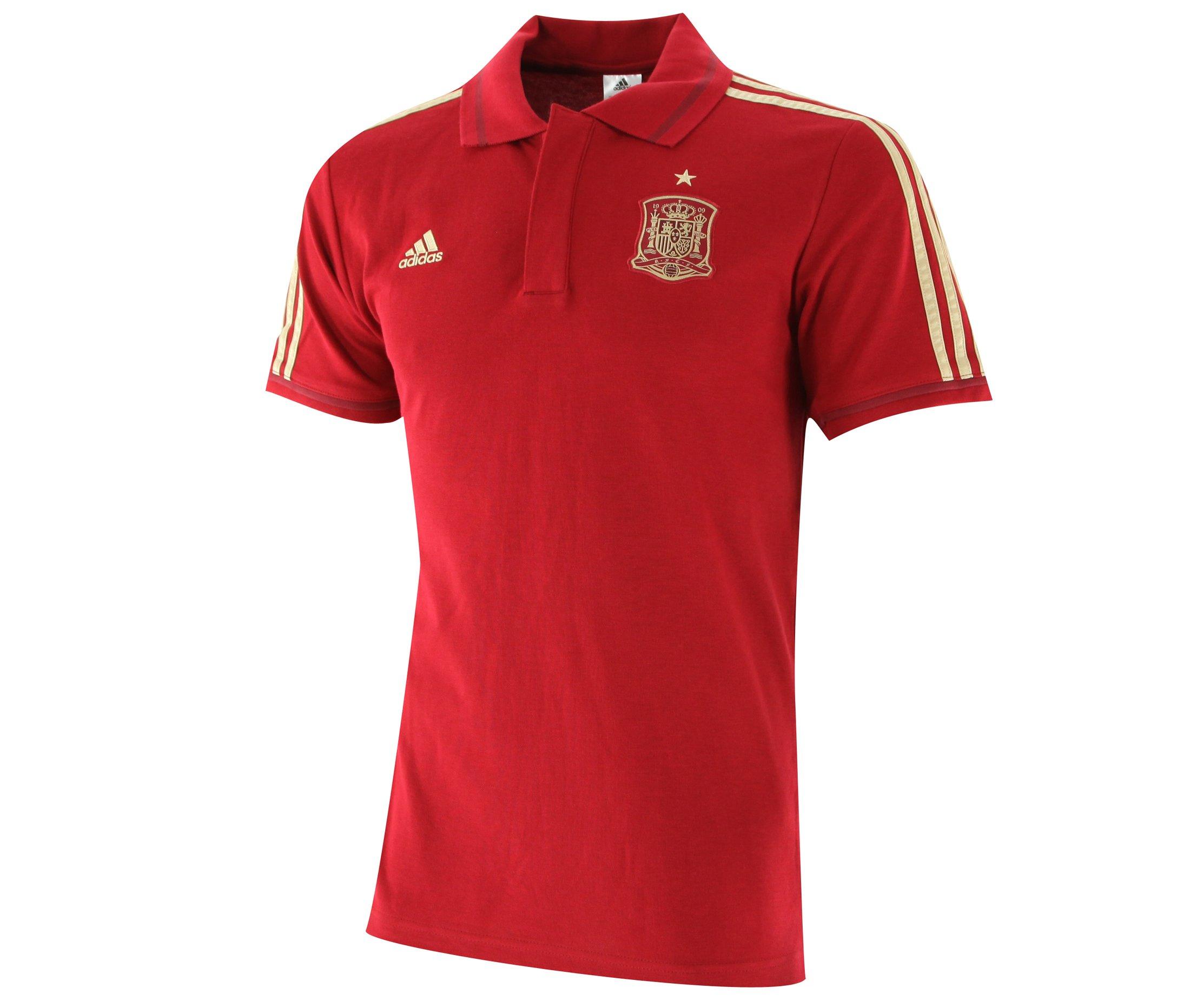 adidas - Polo De Hombre Selección Española De Fútbol 2014, Talla S: Amazon.es: Deportes y aire libre