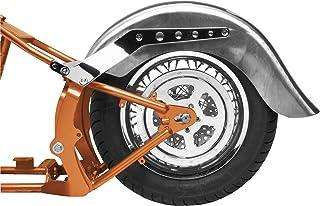 Bikers Choice 9 inch Wide Rear Fender for Custom Bike Applications - One Size