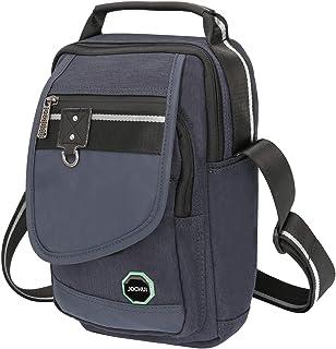 JOCHUI Messenger Bag, Crossbody Bags Vertical Purse Shoulder Bag Work Satchel Bag for Tablets iPad Kindle Blue