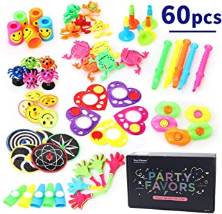 Amy & Benton 60PCS Carnival Prizes for Kids Birthday Party Favors Prizes Box Toy Assortment for Classroom