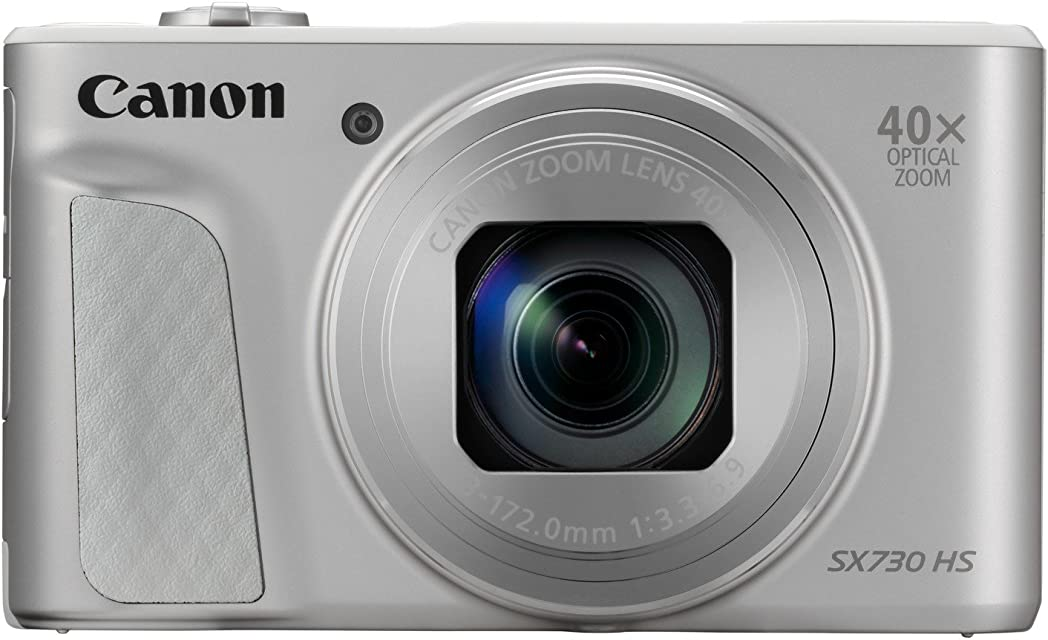 Canon PowerShot SX730 HS - Cámara digital de 20.3 MP (Video Full HD WiFi Bluetooth) Plata