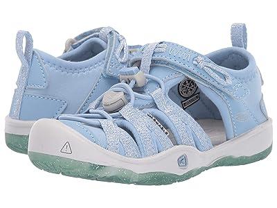Keen Kids Moxie Sandal (Toddler/Little Kid) (Powder Blue/Vapor) Girls Shoes