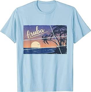 Aruba T-Shirt Aruba Souvenir Gift Sunset Beach