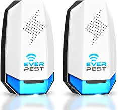 Pest Control Ultrasonic Pest Control- Eco-Friendly Electronic Waves Ultrasonic Pest Repeller Indoor Plug in Repellent for ...