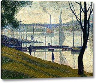 Bridge at Courbevoie by Georges Seurat - 18