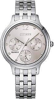 Citizen Women's Quartz Stainless Steel Strap, Silver, 14 Casual Watch (Model: ED8180-52X)