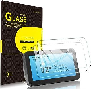 Luibor Echo Show 5 ガラスフィルム 2枚入り アマゾン Echo Show 5nd スピーカー 保護フィルム気泡ゼロ 高透過率 飛散防止 指紋防止