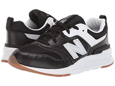 New Balance Kids 997Hv1 (Little Kid) (Black/Silver) Kids Shoes