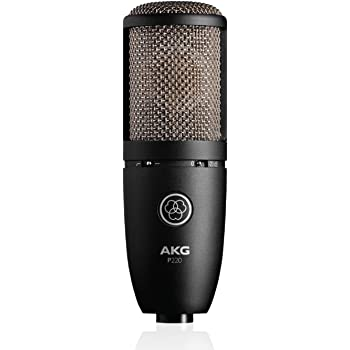 AKG Pro Audio P220 Vocal Condenser Microphone, Black