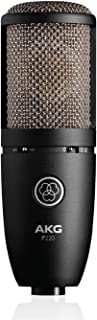 AKG P220 Vocal Condenser Microphone, Black (3101H00420)