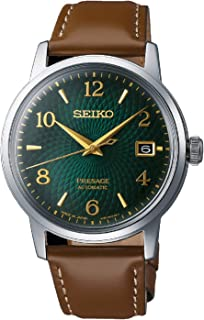 Seiko Sport 5 Facelift Automatic Stainless Steel Watch SRPE60K1 Black