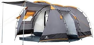 """CampFeuer Tente tunnel pour 4 personnes """"Super+""""   Grande tente familiale avec.."""