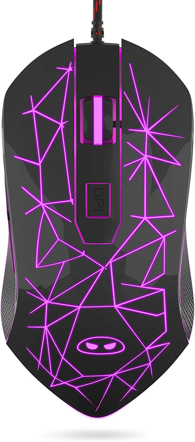 MageGee G6 Wired Bombing free shipping Gaming Mouse with Ergonomic El Paso Mall Optical USB
