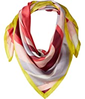 Kate Spade New York - Concentric Spade Silk Square Scarf