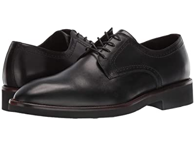 J&M Collection Ridgeland Plain Toe (Black) Men
