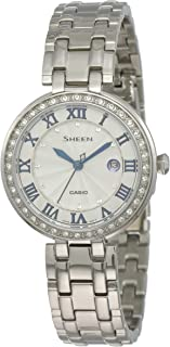 Casio Women's SHE4034D-7A Sheen White Watch