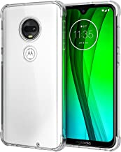 SPARIN Moto G7 Case, [2 Pack] Clear Case for Motorola G7 6.2 Inch with Soft TPU, Camera Protection, Scratch Resistant, Shock Absorption