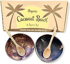 Best eco friendly coconut bowls Reviews