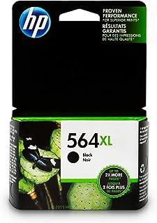 HP 564XL Black Ink Cartridge (CN684WN) for HP Deskjet 3520 3521 3522 3526 HP Officejet 4610 4620 4622 HP Photosmart: 5510 5512 5514 5515 5520 5525 6510 6512 6515 6520 6525 7510 7515 7520 7525 B8550