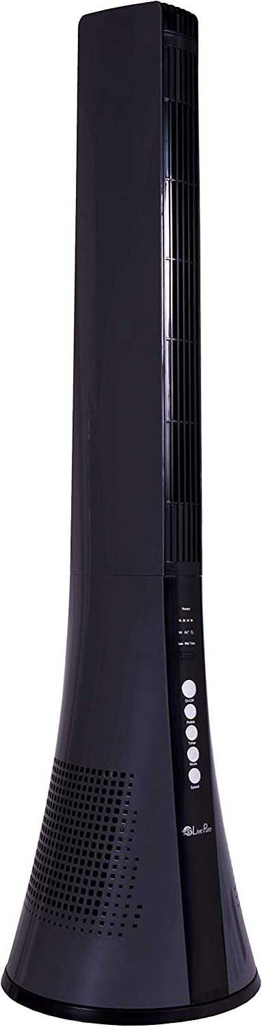 LivePure Blade Tall Bladeless Fan New Shipping Free Shipping Sale Special Price Tower Circulating Air 11.22