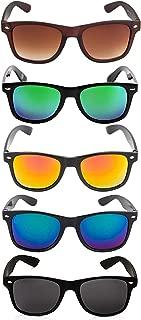 elegante' Combo of 5 Square Sunglasses for Men