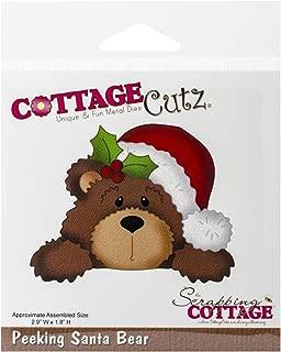 CottageCutz Santa Bear Die