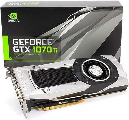 Amazon.com: Nvidia GEFORCE GTX 1070 Ti - Edición del fundador FE [PN:  900-1G411-2510-000] : Electrónica
