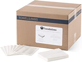 Foundations 2-Ply Disposable Waterproof Paper Liners for Baby Changing Station,..
