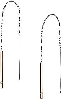 Skagen Women's Rose Gold Earring, SKJ1079998