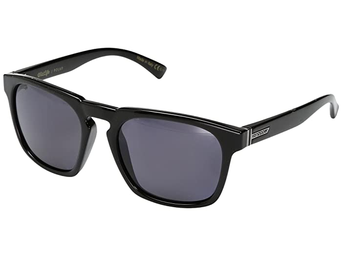 VonZipper Banner Polar (Black Gloss/Wild Vintage Grey Polar) Sport Sunglasses