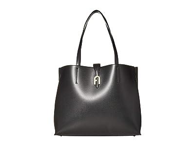 Furla Sofia Large Tote (Nero) Handbags