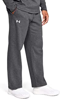 Under Armour Men's Hustle ColdGear Fleece Pant (Medium, Carbon Heather)