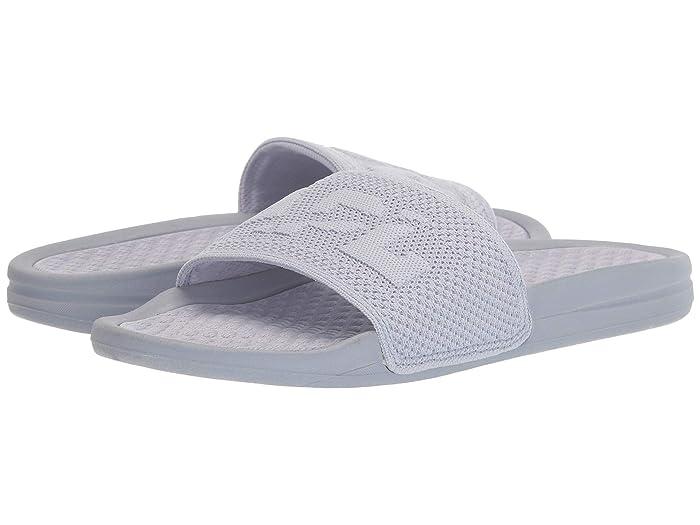 Athletic Propulsion Labs (APL)  Big Logo Techloom Slide (Faded Lavender) Womens Slide Shoes
