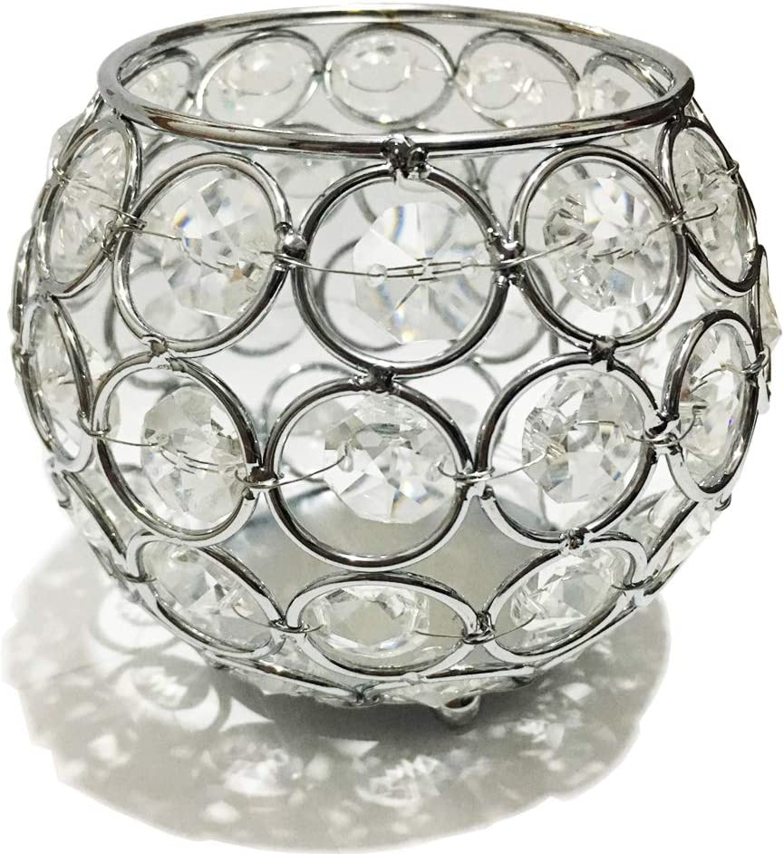 Superior Meihuasheng Crystal Candle Holders Table Max 88% OFF for Decorative Wedding